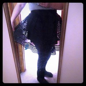Torrid flared Miniskirt